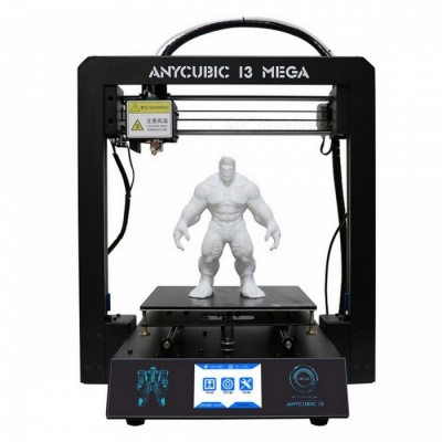 Anycubic I3 Mega Premium 3D Printer Impresora Kit w/ TFT Touch Screen (EU Plug)