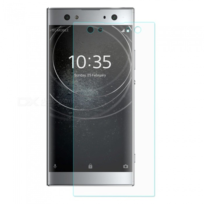 ENKAY 2.5D Tempered Glass Screen Protector for Sony Xperia XA2 Ultra - Transparent - Free shipping - DealExtreme