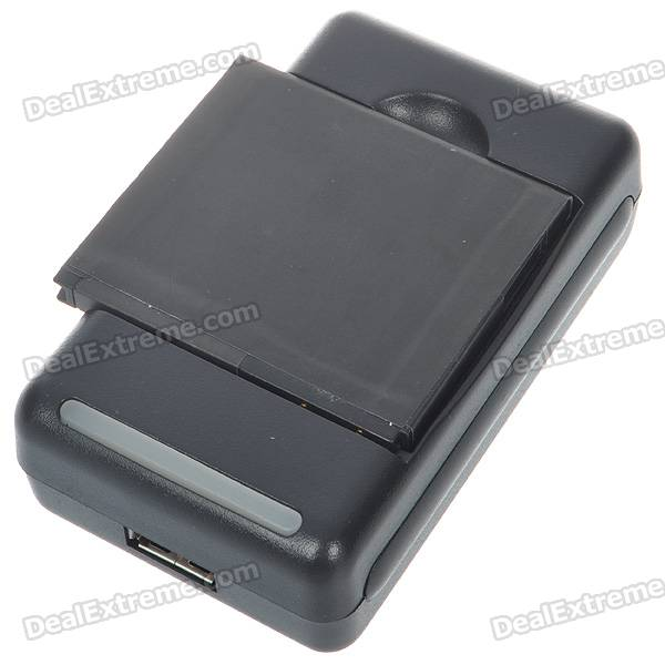 Replacement 3.7V 1500mAh Cellphone Battery with Charger for HTC Desire HD
