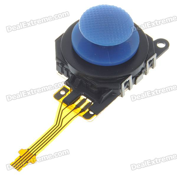 Repair Parts Replacement Analog Stick Module for PSP 3000 - Deep Blue repair parts replacement bus wires for psp 3000 3 piece set