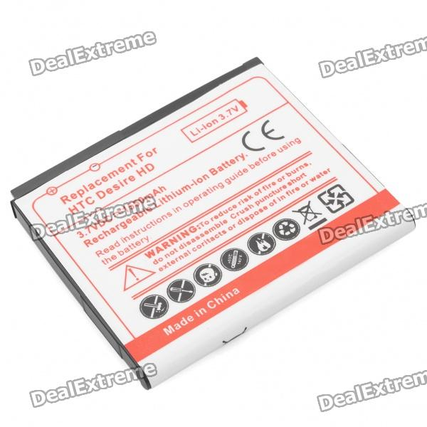 Replacement 3.7V 1550mAh Li-Ion Battery for HTC Desire HD