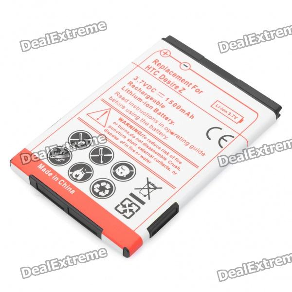 Replacement 3.7V 1500mAh Li-Ion Battery for HTC Desire Z