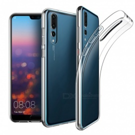 Naxtop TPU Ultra-thin Soft Case for Huawei P20 Pro - Transparent