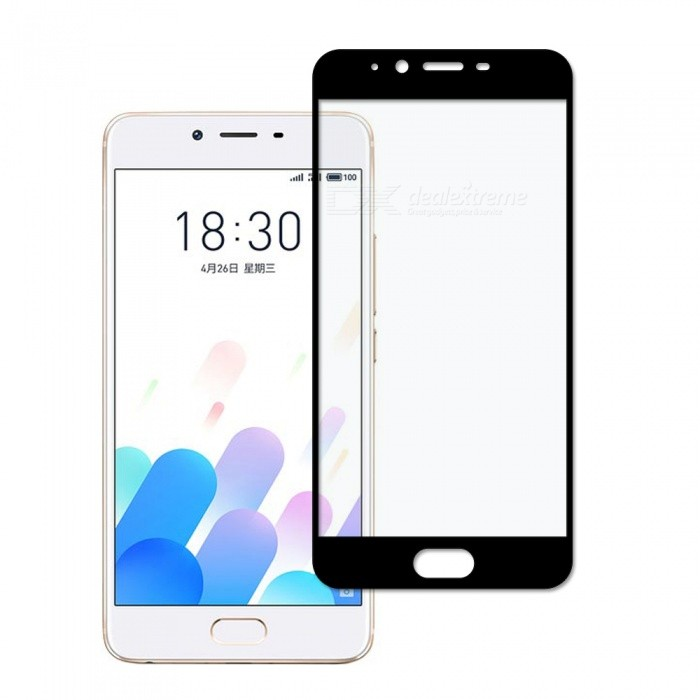 Dayspirit Tempered Glass Screen Protector for Meizu E2 - Black