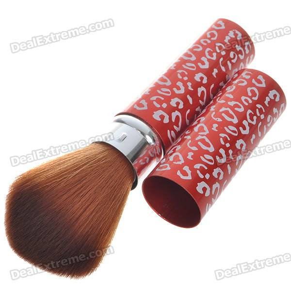 Professional Make-up Foundation Soft Brush (Red)