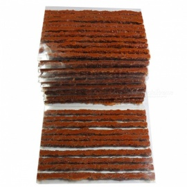 100pcs 6mm x 100mm Automobile Vacuum Tyre Repairing Rubber Strips