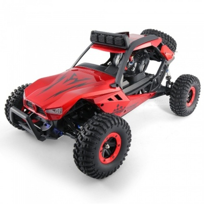 JJRC Q46 1:12 2.4G 4WD Brushed High Speed Off-road RC Car RTR - Red