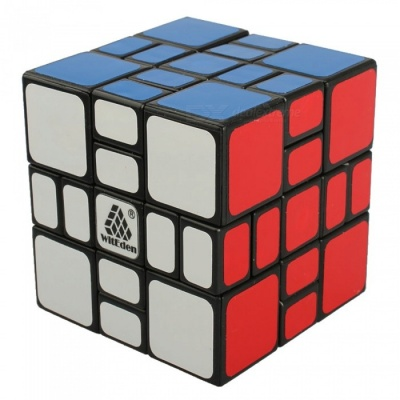 QiYi ZhiLiLeYuan Mixup Plus Speed Cube Smooth Magic Cube Finger Puzzle Toy 70mm