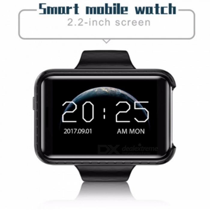 i5S Smart SIM Mobile Watch�� Supports TF Card�� Video Recording�� Music�� GSM MP3 MP4�� Camera - Black