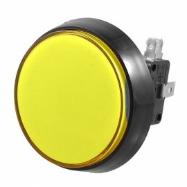 RXDZ 52mm Yellow Illuminated Momentary Push Button with SPDT Micro Switch
