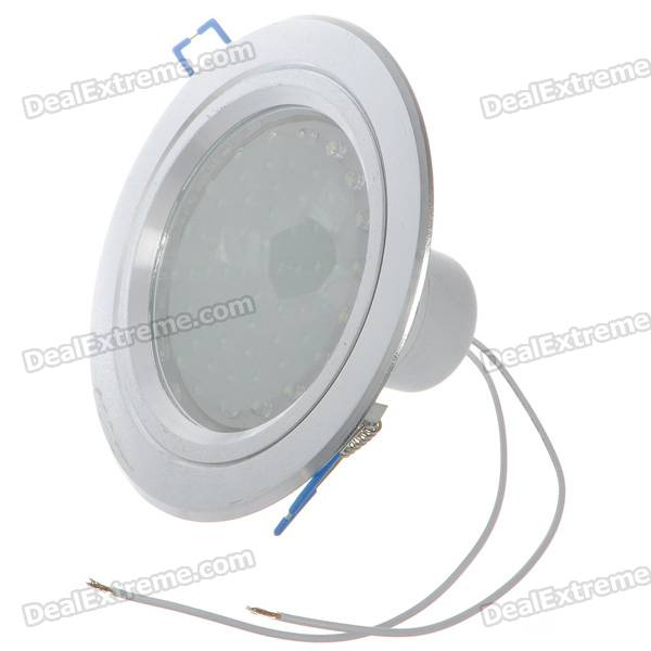 3.6W 6500K 390-Lumen 60-LED White Light Ceiling Lamp/Down Lamp Bulb (220V)