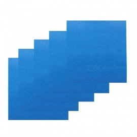ZHAOYAO 5PCS Special High Temperature Adhesive Masking Tapes for 3D Printer Heating Bed - Blue