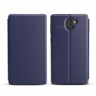 OCUBE Protective Flip-open PU Leather Case for Leagoo Kiicaa MIX 5.5 Inches - Blue
