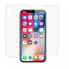 Dayspirit Front & Back Tempered Glass Film Protectors for IPHONE X (2 PCS)