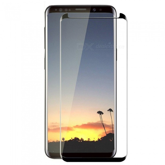 ASLING Tempered Glass Full Coverage 3D Curved Edge Screen Protector for Samsung Galaxy S9