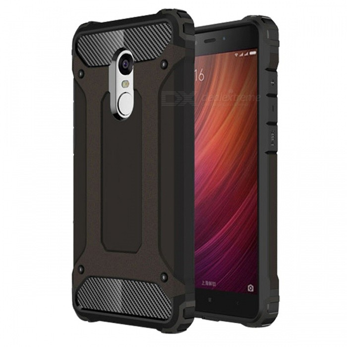 Dayspirit Armor Style Shockproof Anti-Scratch Protective Back Cover Case for Xiaomi Redmi Note 4