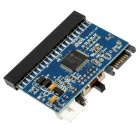 IDE to SATA or SATA to IDE Bi-Directional Adapter Card - Deep Blue