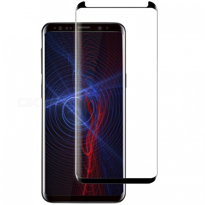 ASLING Tempered Glass Full Coverage 3D Curved Edge Screen Protector for Samsung Galaxy S8 Plus