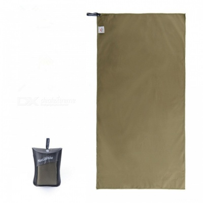 Naturehike NH15A003-P Outdoor Travel Quick-drying Polyester Towel - Army Green 80*40CM