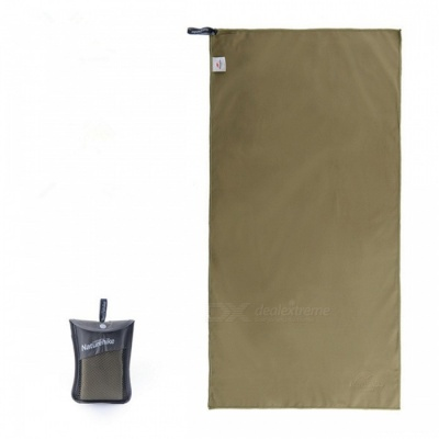 Naturehike NH15A003-P Outdoor Travel Quick-drying Polyester Towel - Army Green 130*73CM