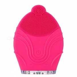 KINGDOM CARES Facial Face Skin Cleansing Massager Brush Silicone Vibration Scrubber Anti-age Pore Clear Blackheads Remover