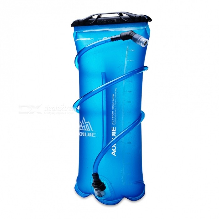 AONIJIE Premium Soft Water Bottle Bag Backpack for Outdoor Cycling Running - Blue (3L)
