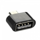 USB 3.1 Type-C to Micro USB 2.0  + Micro USB to USB 2.0 Converter Data Charging Adapter Connector