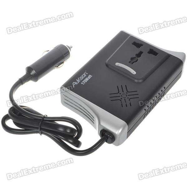 175W Car DC to AC Power Inverter with USB Power Port