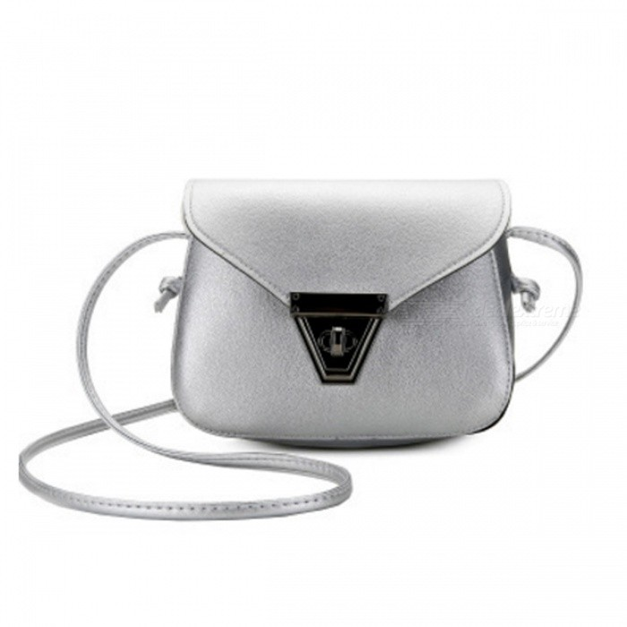 Stylish Mini One-shoulder Bag with Metal Lock for Women Girls - Free ... 0fa3bb6d89c84
