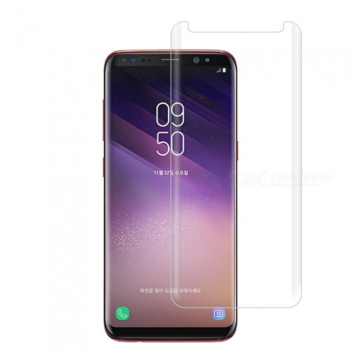 Dayspirit Full Screen Curved Tempered Glass Film Screen Protector for Samsung Galaxy S8 - Transparent