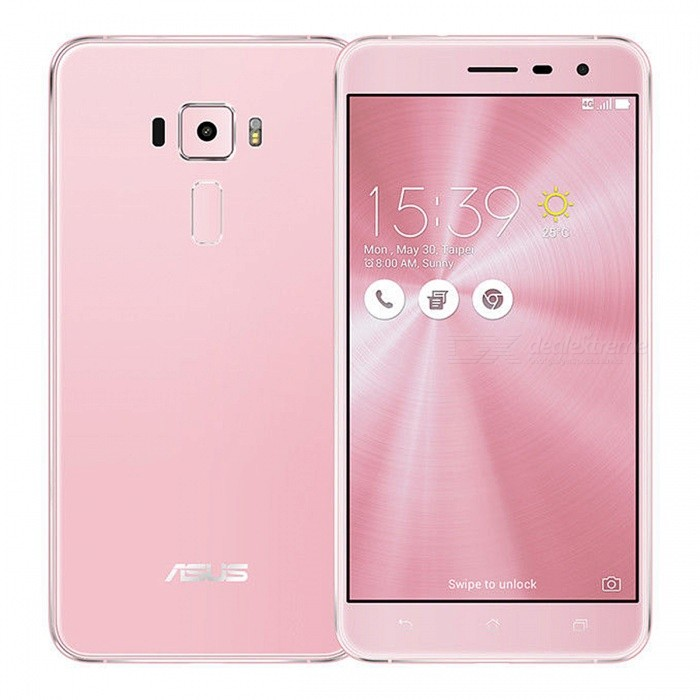 "Asus Zenfone 3 ZE552KL Dual SIM 5.5"" Smart Phone with 4GB RAM, 64GB ROM - Pink"
