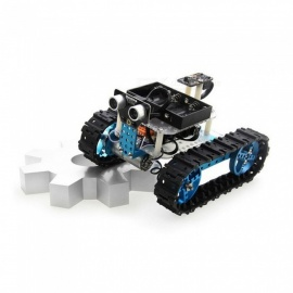 makeblock arduino robot startpaket - blå bluetooth version