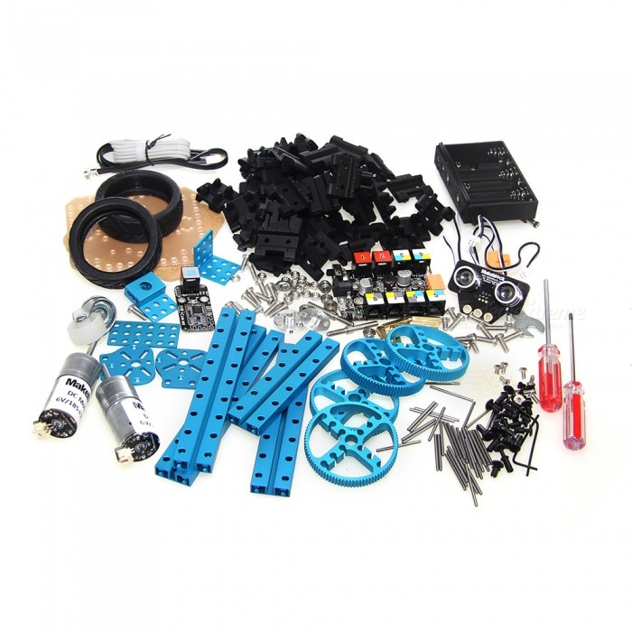 Makeblock arduino robot starter kit blue bluetooth