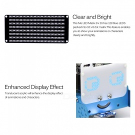 makeblock mbot add-on LED-Matrix 8 * 16 Modul