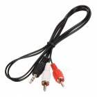 3.5mm Audio Jack (Male) to RCA Audio Converter (90cm)