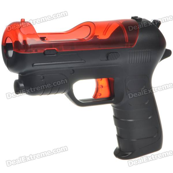 Shooting Equipment Gun Pistol Adapter for Motion Controller PS3 Move