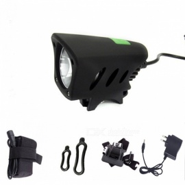 ZHAOYAO Outdoor Cycling XM-L T6 LED 5-Mode Bright Bike Lamp Headlamp w/ Accessories - Black