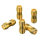 SMA Rundad DIY Connector Plug (5-pack)