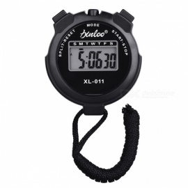 Outdoor Sports Gaming Running Track and Field Training Exercise Electronic Stopwatch Timer - Black