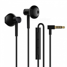 2018 New Original Xiaomi Mi Dual Driver 3.5mm Wired Earphone with Microphone - Black