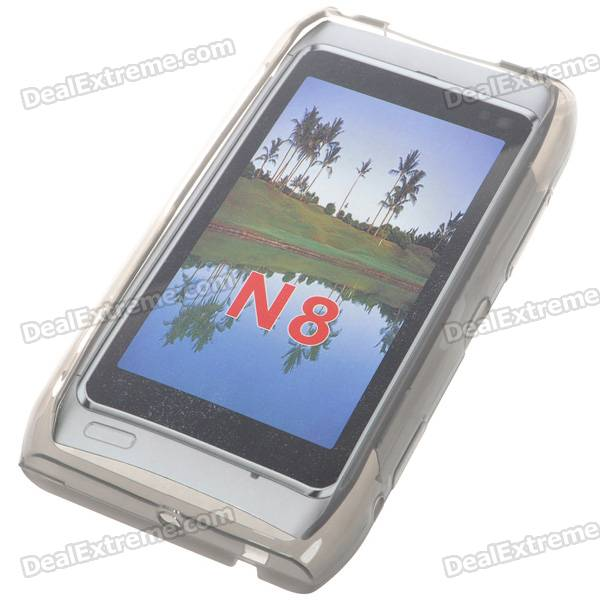 Protective TPU Case for Nokia N8 (Grey)