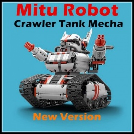 Xiaomi Mitu Robot Tank Mecha Crawler Base Building Blocks Robot Toy for Kids