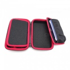 Multi-function Game Playing Console Storage Bag Case with Multi Card Slots for 3DSXL - Black + Red