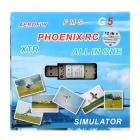 12-in-1 USB 2.0 Almighty Flight Simulator Dongle
