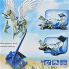 3-em-1 Educacional DIY Solar Stallion Toy Assembléia Kit