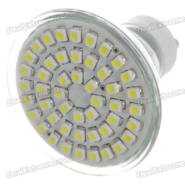 GU10 3.5W 48-SMD LED 140-Lumen 7000K White Light Lamp Bulb (110V) glass lampshade pendant lamp glass metal high quality indoor bedroom dining room hanging lamp light 110v 250v luminaires