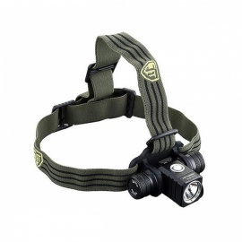 Jetbeam HR25 Cree XM - L2 T6 LED 800LM Rechargeable Waterproof Headlamp - Black