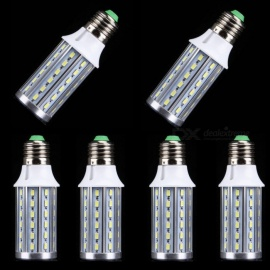 ZHAOYAO 6Pcs E27 15W 1500 Lumens AC100-240V 5730SMD-60LEDs Aluminum Corn Light Bulb - White Light