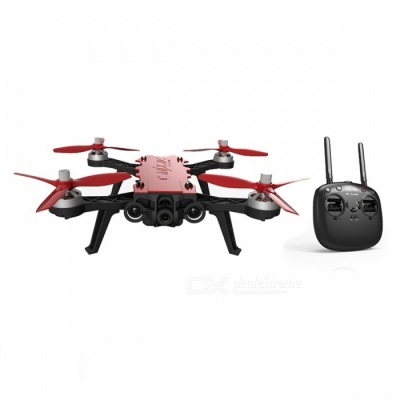 MJX B8 Pro Bugs 8 Pro RC Drone Quadcopter with 2204 1800KV Brushless Motor - Red