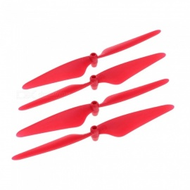 Hubsan H502E-03 RC Quadcopter Spare Parts CW CCW Propellers for H502E H502C - Red (2 Pairs)